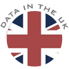 All our data is stored in the UK